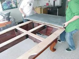 Proper pool table moving in Canton Ohio