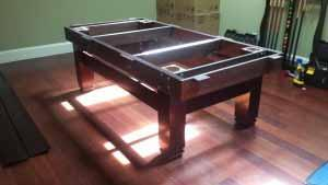 Pool and billiard table set ups and installations in Canton Ohio
